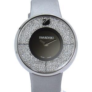 スワロフスキー SWAROVSKI  Crystalline 1135990 シルバー クリスタル レディース 腕時計【アウトレット展示用】|pre-ma