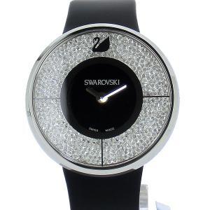 スワロフスキー SWAROVSKI  Crystalline 1135988 ブラック クリスタル レディース 腕時計【アウトレット展示用】|pre-ma
