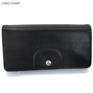 LONGCHAMP ロンシャン 長財布 二つ折り 3146 737 001  Noir/ブラック 新品|pre-ma