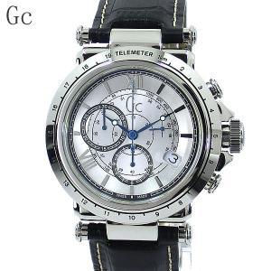 GC ジーシー メンズ腕時計 X44007G1 クロノグラフ レザー B1-Class SWISS MADE GUESS 新品|pre-ma