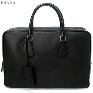 PRADA プラダ ブリーフケース/ビジネスバッグ  VS0088 9Z2 F0002 NERO/ブラック BORSA DA VIAGGIO|pre-ma