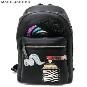 マークジェイコブス  リュックサック/バックパック レザー M0011187  001 ブラック  Verhoeven Biker Backpack|pre-ma