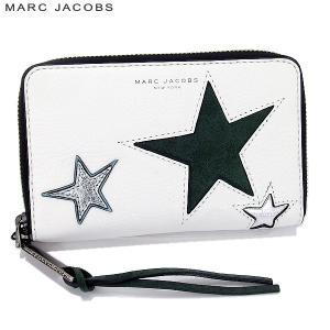 マークジェイコブス スマホケース/カード入れ M0009529 123/STAR ホワイト STAR PATCHWORK|pre-ma