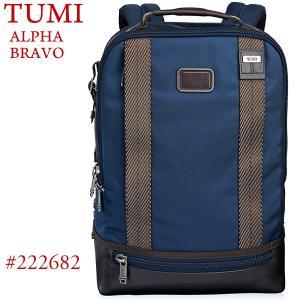 TUMI トゥミ  バックパック/リュック Dover ALPHA BRAVO 222682 NVY2 ネイビー|pre-ma