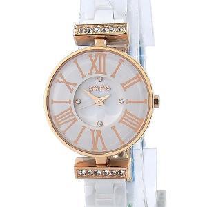 フォリフォリ Folli Follie 腕時計 レディース WF15B028BSZ-XX ダイナスティ ローズゴールド/セラミック