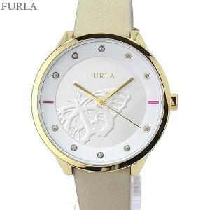 フルラ 腕時計 レディース 4251102529  FURLA METROPOLIS 38mm YG/ホワイト・ベージュ レザー 【アウトレット訳あり】|pre-ma