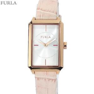 フルラ 腕時計 レディース 4251104501 FURLA DIANA スクエア PG/ピンクレザー アウトレット|pre-ma
