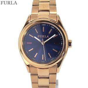フルラ 腕時計 レディース 4253101501  FURLA EVA 34mm PGステンレス/ネイビー アウトレット|pre-ma