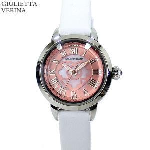 ジュリエッタヴェローナ レディース 腕時計 GV003SPKWH LOVE VERONA ピンク ホワイトレザー 決算SSP|pre-ma