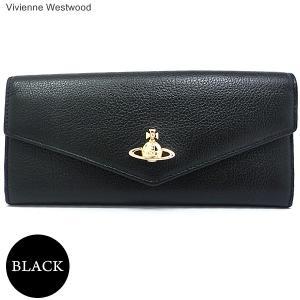 ヴィヴィアンウエストウッド  長財布 二つ折り 51040028 40212 BLACK ブラック BALMORAL VIVIENNE WESTWOOD|pre-ma