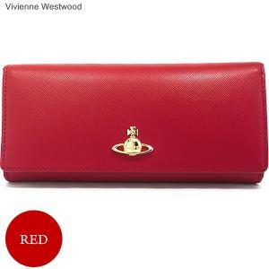 ヴィヴィアンウエストウッド  長財布 二つ折り 51120005 40187 RED レッド PIMLICO VIVIENNE WESTWOOD|pre-ma