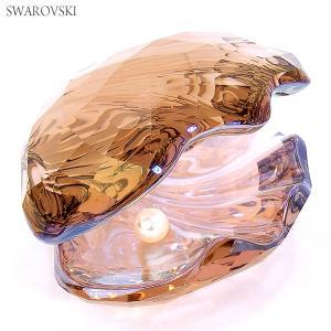 スワロフスキー パール オイスター 1075308 SWAROVSKI  PEARL OYSTER VINTAGE ROSE フィギュア 置物 決算SSP|pre-ma