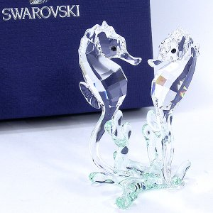 スワロフスキー タツノオトシゴ 885589  SWAROVSKI  SEA HORSES フィギュア 置物|pre-ma
