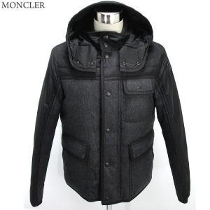 モンクレール ダウンジャケット  ASTIER メンズ 945/グレー MONCLER  ナイロン/ウール サイズ2限定|pre-ma