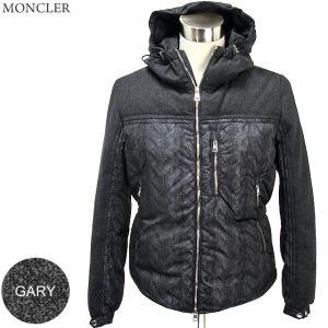 モンクレール ダウン ジャケット メンズ GARY 930/ダークグレー ナイロン&ウール  サイズ(3)  MONCLER|pre-ma