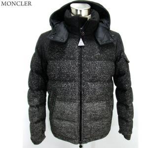 モンクレール ダウンジャケット ヘリンボーン ツイード ウール MONTGENEVRE メンズ 999 MONCLER サイズ3|pre-ma