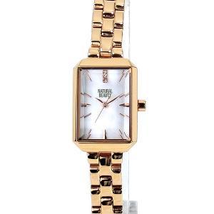 ナチュラルビューティー レディース 腕時計 NB006PPK ピンクゴールド NATURAL BEAUTY【アウトレット特価】|pre-ma