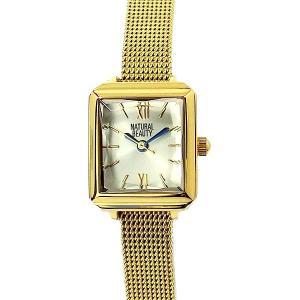 ナチュラルビューティー レディース 腕時計 NB001YCH イエローゴールド NATURAL BEAUTY【アウトレット特価】|pre-ma