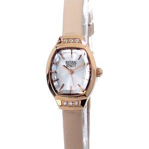 ナチュラルビューティー レディース 腕時計 NB004PSIPK レザー NATURAL BEAUTY【アウトレット特価】|pre-ma
