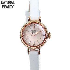 ナチュラルビューティー レディース 腕時計 NB007PPKWH レザー NATURAL BEAUTY【アウトレット 】|pre-ma