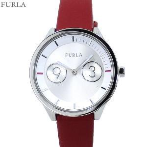 フルラ 腕時計 レディース 4251102507  FURLA METROPOLIS 31mm SV/レッド レザー アウトレット限定1点|pre-ma
