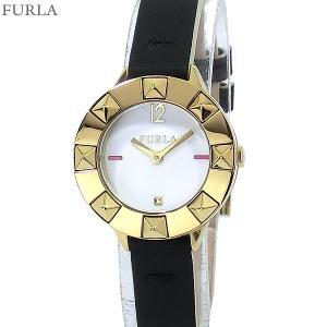 フルラ 腕時計 レディース 4251109525  FURLA CLUB 26mm YG/BK レザー 【アウトレット訳あり処分セール】|pre-ma