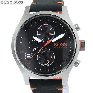 HUGO BOSS ヒューゴボス メンズ 腕時計 1550020 デイデイト レザー ブラック 決算SSP|pre-ma