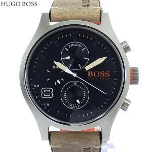HUGO BOSS ヒューゴボス メンズ 腕時計 1550021 デイデイト レザー ヴィンテージブラウン 決算SSP|pre-ma