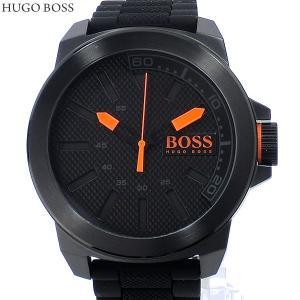 HUGO BOSS ヒューゴボス メンズ 腕時計 1513004 ラバー ブラック 新品|pre-ma