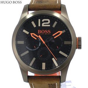 HUGO BOSS ヒューゴボス メンズ 腕時計 1513240 デイデイト レザー ヴィンテージブラウン 決算SSP|pre-ma