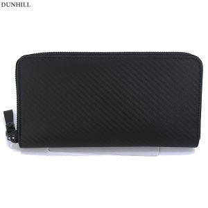 ダンヒル 長財布 ラウンドファスナー L2A218A dunhill CHASSIS シャーシ メンズ ブラック 決算セール|pre-ma