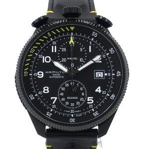 【アウトレット特価】ハミルトン HAMILTON カーキ KHAKI AVIATION  H76786733 TAKEOFF AUTO クロノグラフ メンズ腕時計 pre-ma