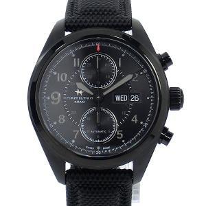 ハミルトン HAMILTON カーキ KHAKI FIELD  H71626735 AUTO クロノグラフ メンズ腕時計 自動巻|pre-ma