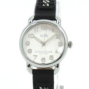 コーチ COACH  レディース腕時計 14502257 デランシー 28mm SSチェーンレザー/ブラック【アウトレット展示品-S3】|pre-ma