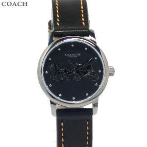 コーチ COACH  レディース 腕時計 グランド 14502979 ブラック レザー 28mm 決算SSP|pre-ma