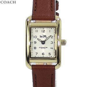 コーチ COACH  レディース 腕時計 14502297 THOMPSON トンプソン イエローゴールド/ブラウンレザー|pre-ma
