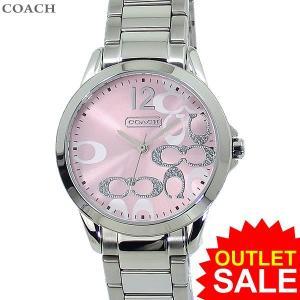 コーチ COACH  レディース 腕時計 クラシック シグネチャー 14501617 32mm ステンレス ピンク【新品アウトレット-S1】|pre-ma