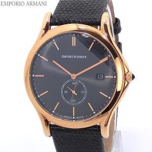 エンポリオ アルマーニ  メンズ 腕時計 EMPORIO ARMANI  ARS1003 クォーツ 40mm ローズゴールド スイス製 決算SSP|pre-ma