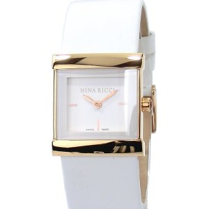 ニナリッチ NINA RICCI  腕時計 レディース N040003SM  スイス製 スクエア 【アウトレット展示品】|pre-ma