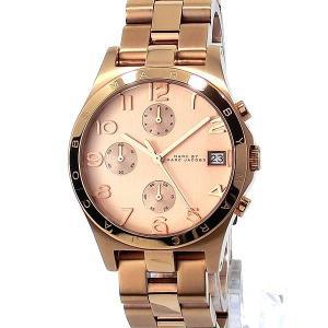 マークバイマークジェイコブス 腕時計 MBM3074 クロノグラフ ヘンリー  ローズゴールド 38mm ユニセックス|pre-ma