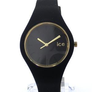 【アウトレット箱不良】ICE WATCH アイスウォッチ ICE GLAM BLACK スモール 34mm レディース 腕時計 ブラック|pre-ma