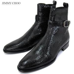 JIMMY CHOO ジミーチュウ ジョッパーブーツ HOLDEN BOOTS MBJI17S1000-AB メンズ ショートブーツ|pre-ma