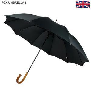 FOX UMBRELLAS フォックス アンブレラ 長傘 ワンタッチ GA2 ブラック/マラッカ MALACCA 138724 Hardwood Automatic|pre-ma