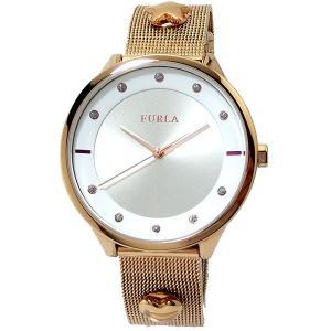 フルラ 腕時計 レディース R4253102525  FURLA PIN COLLECTION ローズゴールド メッシュスライド式 アウトレット 訳あり特価|pre-ma