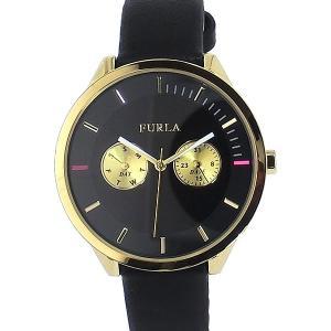 フルラ 腕時計 レディース 4251102501  FURLA METROPOLIS 38mm ブラック レザー 【アウトレット特価】|pre-ma