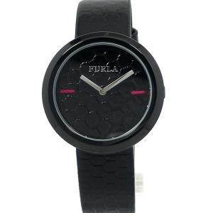 フルラ 腕時計 レディース 4251110505 34mm  FURLA My Piper ブラック/ブラック レザー 新品アウトレット pre-ma