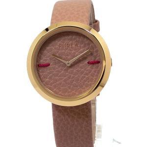 【未使用展示品・訳あり】フルラ 腕時計 レディース 4251110502 34mm  FURLA My Piper ゴールド/ベージュピンク レザー|pre-ma