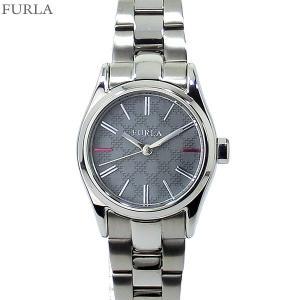 フルラ 腕時計 レディース 4253101523  FURLA EVA 25mm SV/グレー ステンレス アウトレット|pre-ma