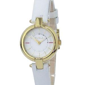 フルラ 腕時計 レディース 4251106502  FURLA LINDA 25mm YG/ホワイトレザー 【アウトレット特価】|pre-ma