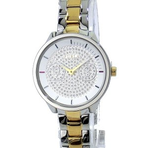 フルラ 腕時計 レディース 4253102517  FURLA METROPOLIS 31mm ゴールド/シルバー ステンレス アウトレット特価|pre-ma